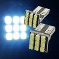2 x T10 194 168 W5W del coche LED blanco luz DC 12 V lámpara de la matrícula envío gratis