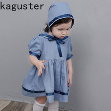 Spanish Baby Clothes Baby Girls Princess Dress Navy Blue Robe Fille Vestidos Infantile Spanish Girls Dress Kids Summer Clothes new design embroidered flower navy blue baby kids girls princess dress kids summer party dress clothes 3 8y