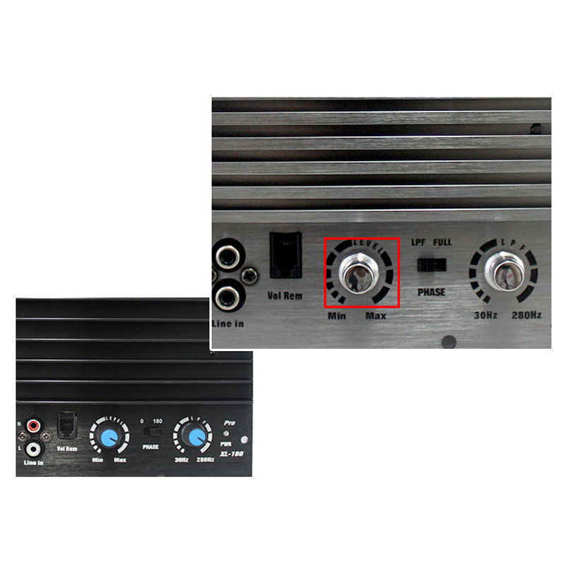 1000W Amplifier Board Mono Car Audio High Power Amp Bass Subwoofer 28-160KHz
