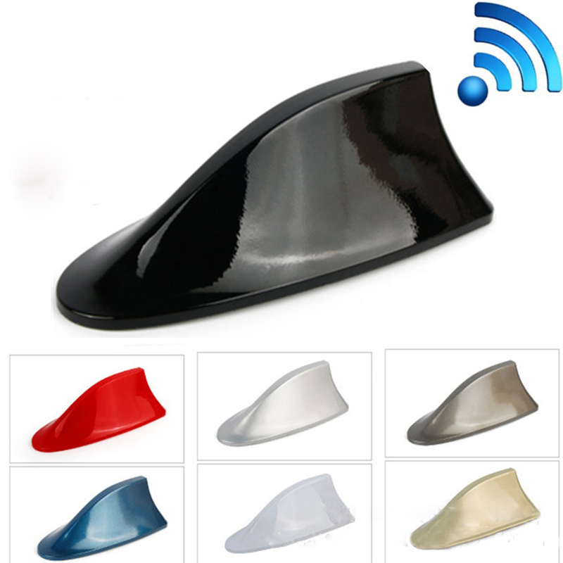 Image 2 - For Mercedes Benz A Class W176 W169 B W246 W245 C W205 W204 W203 2018 Car Shark Fin Antenna Signal Aerials Sticker Accessories-in Car Stickers from Automobiles & Motorcycles