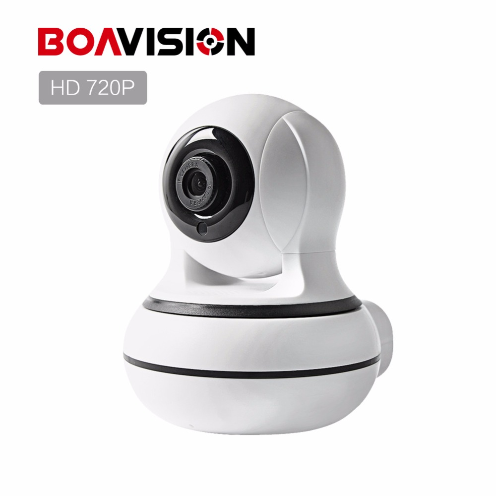 BOAVISION 720P Wireless IP Camera WIFI ONVIF IR 8M HD 1.0MP Smart Camera Two Way Audio Home CCTV Surveillance Camera P2P View