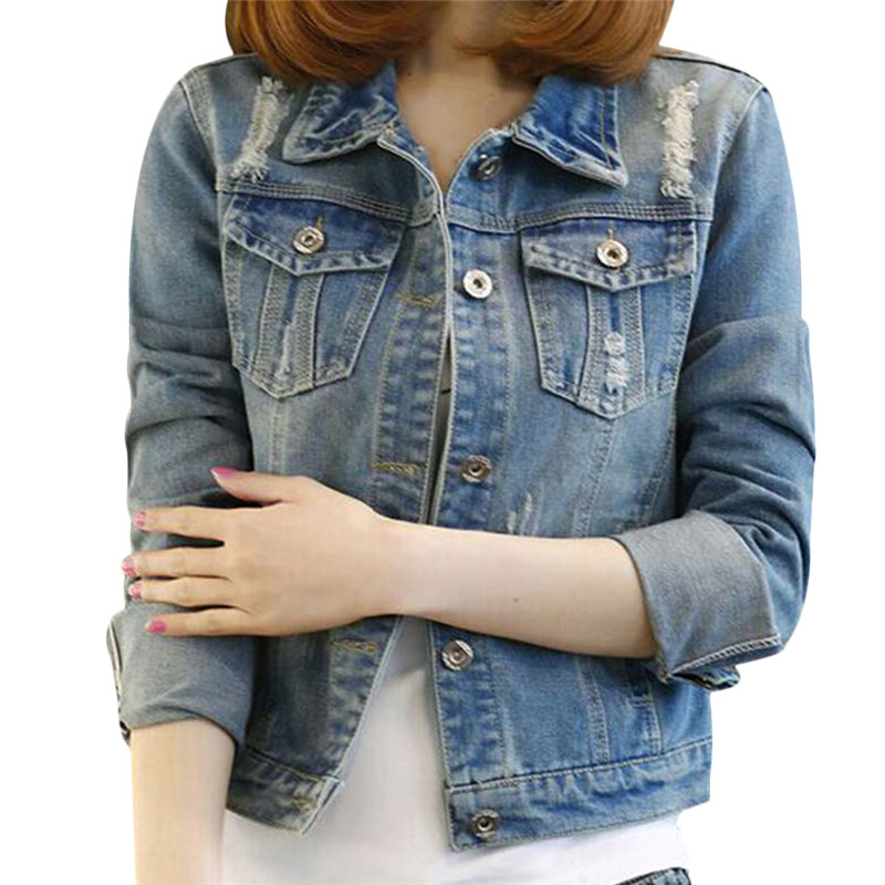 Denim Jacket No Sleeves Womens Promotion-Shop for Promotional ...