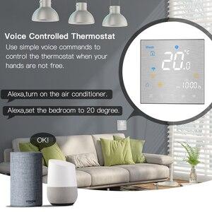 Image 3 - Wi Fi умный термостат регулятор температуры для воды/Электрический пол Отопление воды/газовый котел работает с Alexa Google Home