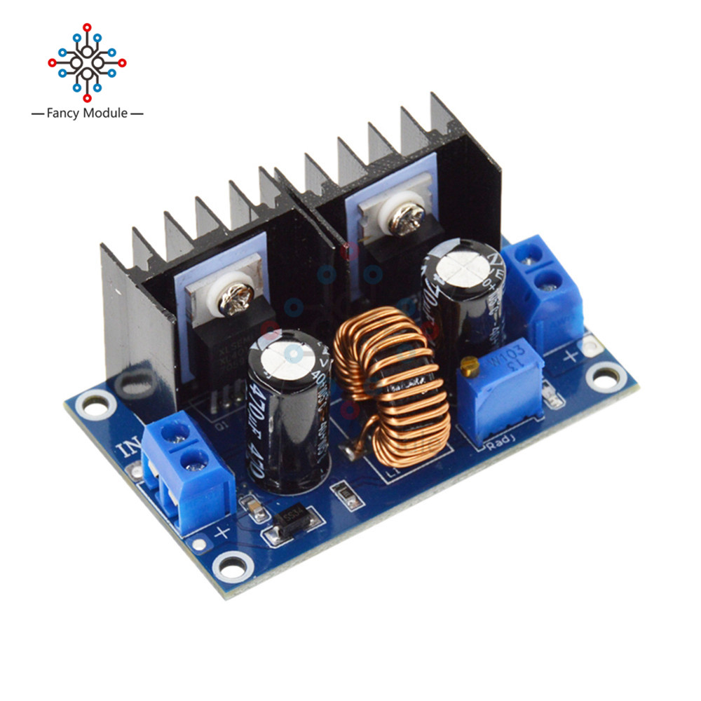 XL4016 PWM Adjustable 4-36V To 1.25-36V Step-Down Board Module Max 8A 200W DC-DC Step Down Buck Converter Power Supply dc dc 8a automatic step up step down adjustable power module for rc toys models