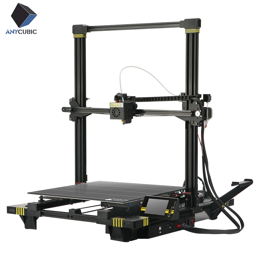 ANYCUBIC Chiron 3D Printer Plus Size TFT Auto leveling Extruder Dual Z Axisolor Impressora 3D Kit