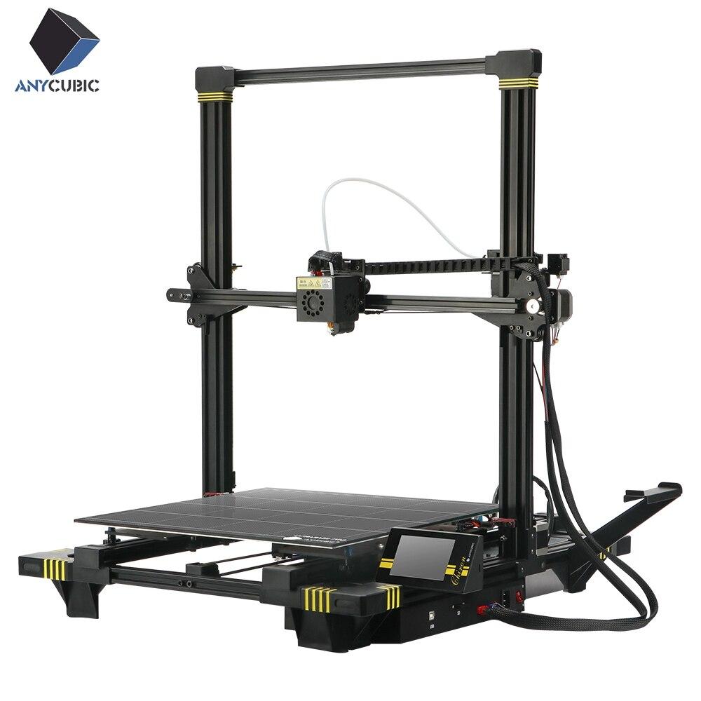 3d-drucker Und 3d-scanner Anycubic Chiron 3d Drucker Plus Größe Tft Auto-leveling Titan Extruder Dual Z Axisolor Impressora 3d Kit Diy Gadget 3d Drucker