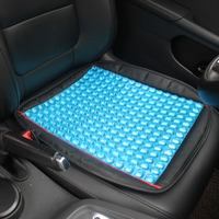 1Pcs Portable Silica Gel Car Seat Cover Breathable Massage Honeycomb Breathable Ice Pad