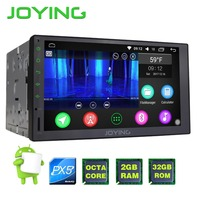 JOYING Upgrade PX5 Octa 8 Core Android 6 0 Universal Car Radio 7 Double Din 2G