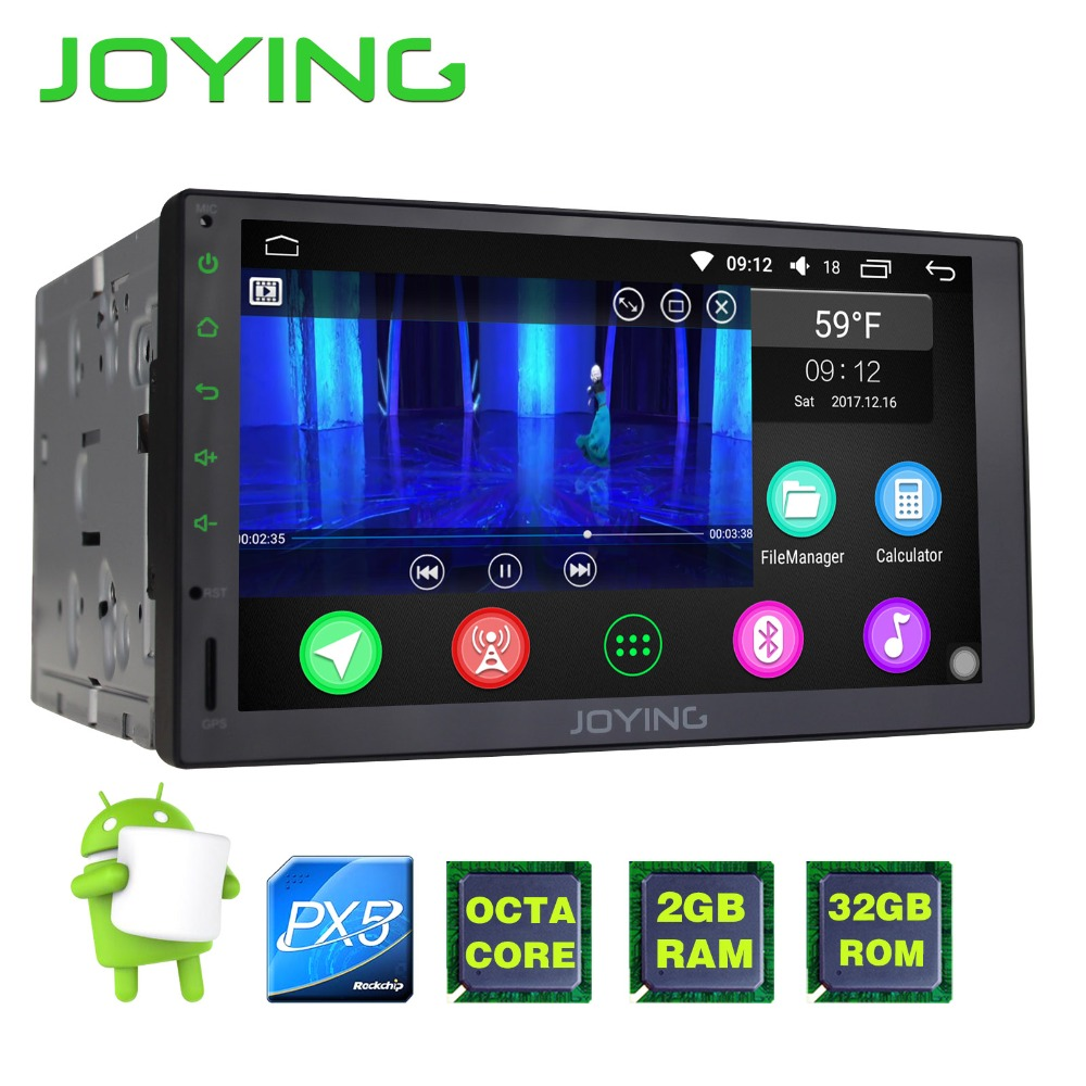 JOYING upgrade PX5 Octa 8 Core Android 6 0 Universal font b Car b font Radio