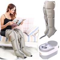Electric Air Compression Leg Massager Leg Wraps Foot Ankles Calf Massage Machine Promote Blood Circulation Relieve