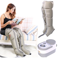 Electric Air Compression Leg Massager Leg Wraps Foot Ankles Calf Massage Machine Promote Blood Circulation Relieve