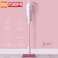 New Xiaomi ROIDMI F8 Wireless Handheld Vacuum Cleaner 18500 Pa Strong Suction Low Noise Smart Dust Collector Household Cyclone