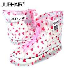 New Waterproof Rain Reusable Shoes Covers All Seasons Slip-resistant Zipper Rain Boot Overshoes Men&Women's Shoes Accessories