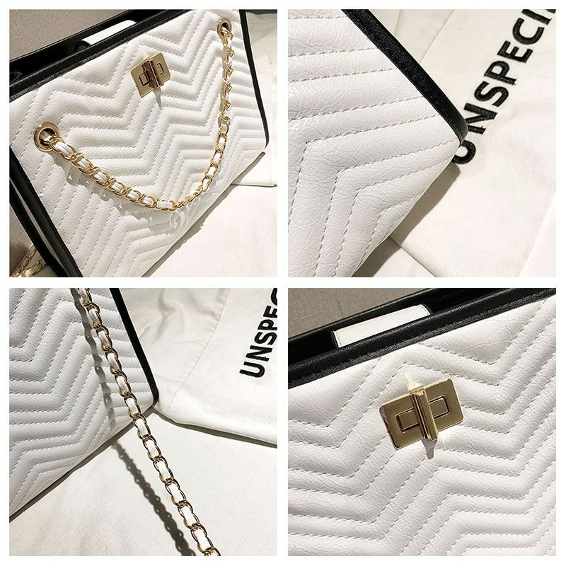 Luxury Handbags Women Bags Designer Brand Tote Casual Leather Chain Large Shoulder Bag Crossbody Bags For Women 2018 Channels