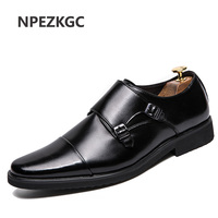 8622280fc1 YOYLAP Brand Men Dress Shoes Bright Leather Formal Business Oxfords Wedding  Party Brogue