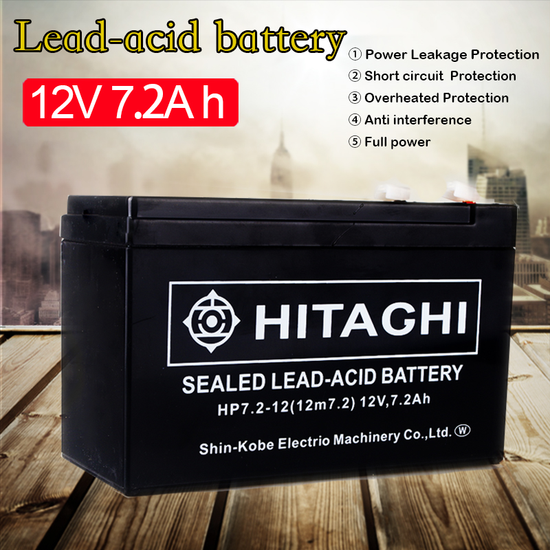 12 Volt <font><b>7Ah</b></font> Rechargeable Sealed <font><b>Lead</b></font> <font><b>Acid</b></font> <font><b>Battery</b></font> Terminal <font><b>12V</b></font> 7Amp for Access Power Supply Children's Electric Car <font><b>Battery</b></font> image