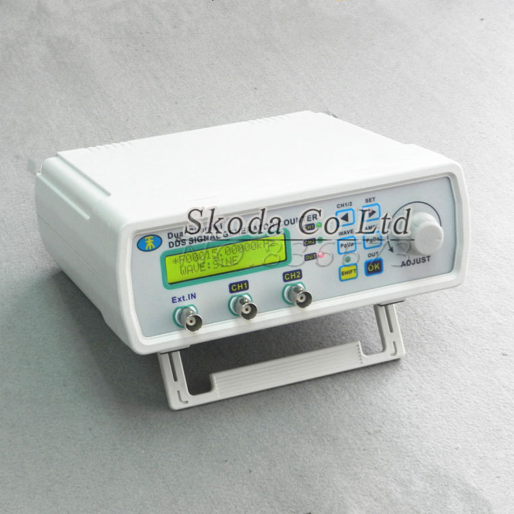 Dual-channel DDS Signal Generator 25MHz Sine wave 200MSa/s DDS signal source frequency meter  TTL output fy2212s 12mhz dual channel dds function signal generator sine square wave sweep counter