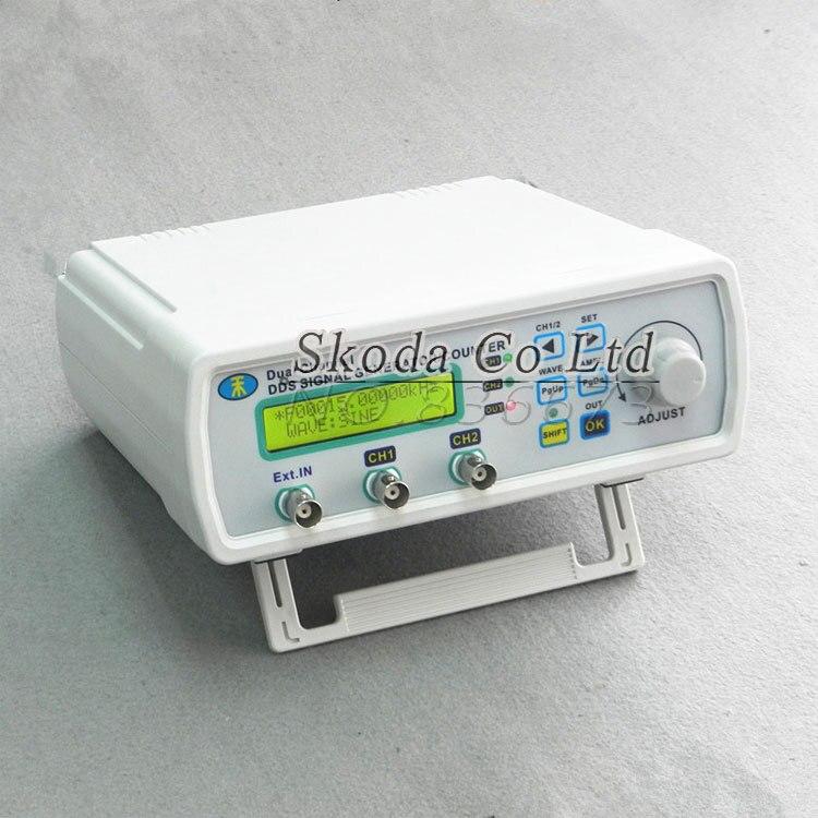 Générateur de Signal DDS à double canal onde sinusoïdale 25 MHz 200MSa/s DDS source de signal compteur de fréquence sortie TTL