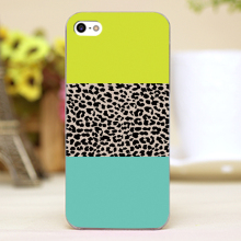 Leopard National Flag Design Customized transparent case cover cell mobile phone cases for Apple iphone 6