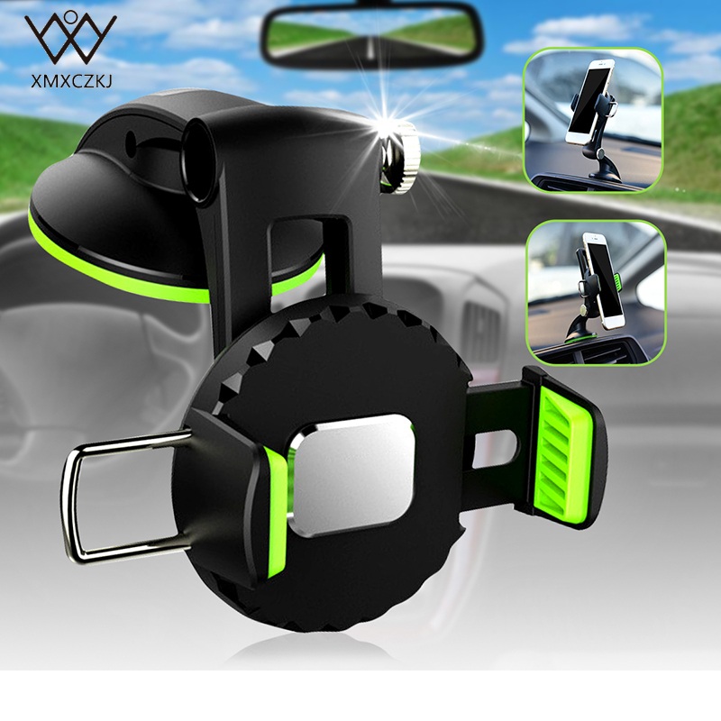 New Universal Mobile phone Holder 360 Rotation Car Automotive Dashboard Windshield Holder Mount Cradle Suction Cup Stand For GPS|mobile phone holder|stand for|holder mount - title=