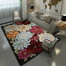 3D Творческий цветок дверь коврики завод ковры коврики для прихожей Спальня Гостиная Чай Таблица розового ковры Кухня Ванная комната полас, изготовленные на заказ