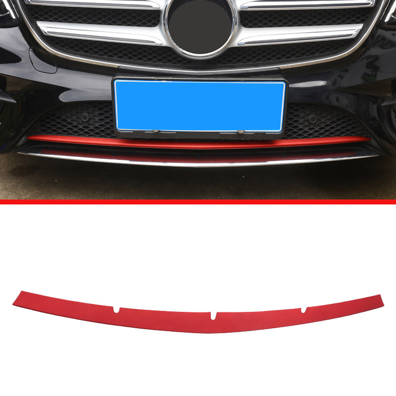 For Mercedes Benz W213 E Class 2016 2017 ABS Plastic Front Bottom Grill Grid Grille Bumper upper Cover Trim For Mercedes-benz high quality for toyota highlander 2015 2016 car cover bumper engine abs chrome trims front grid grill grille frame edge 1pcs