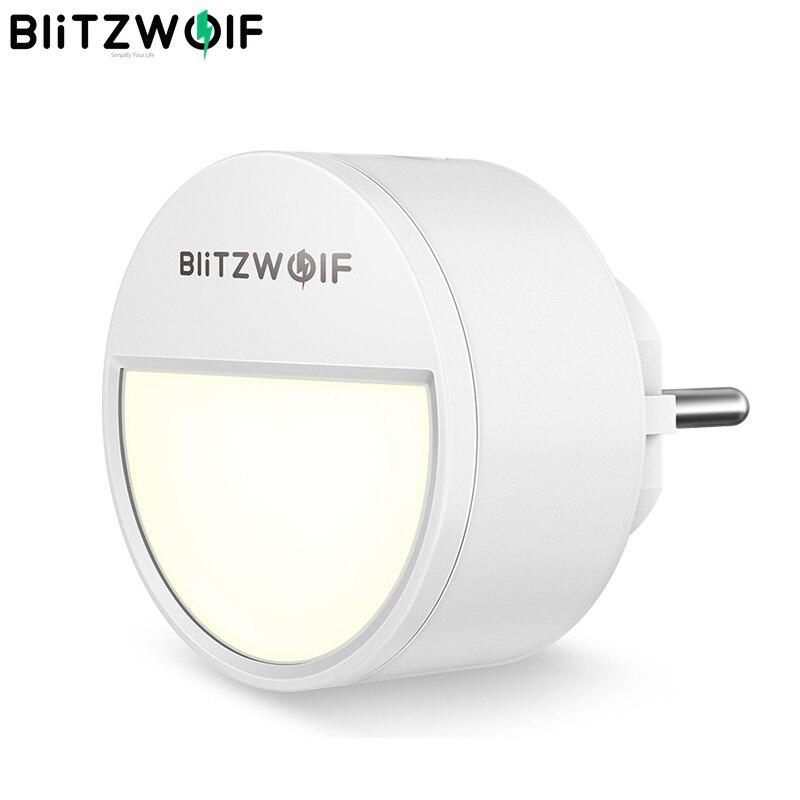 BlitzWolf BW-LT10 Smart Home Light Sensor Light For Night 3000K Color Temperature 20 Lumens Lighting 120 Degree Angle Lamp