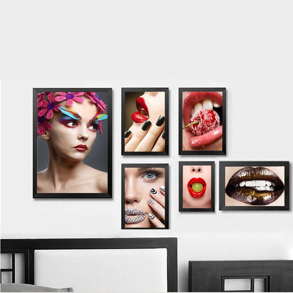 Xdr027 Unframe Modern Decorative Painting SPA Beauty Salon