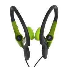 Wysokiej jakości słuchawki z zaczepem na ucho zabawy na świeżym powietrzu słuchawki sportowe przewodowy zestaw słuchawkowy Fone De Ouvido dla iPhone Samsung Xiaomi telefon komórkowy
