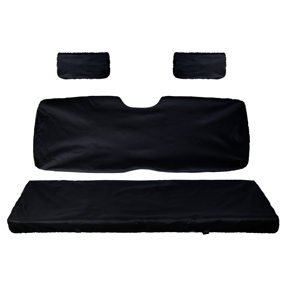 UTV Bench Seat Cover Set With Back Seat Cover For Polaris Ranger 500 700 800 2002-2008 2003 2004 2005 2006 2007