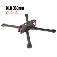 XL8 8 inch 360mm Long Range FPV Freestyle Frame Kit for FPV Racing quadcopter frame kit