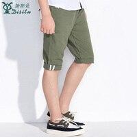 Disitu letnie spodenki dla dzieci dla chłopców zieleń wojskowa dorywczo mody proste dzieci czystej bawełny wysokiej talii enfant z kieszeni 2 kolor