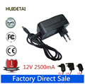12 V 2500mA 2.5A AC DC fuente de Alimentación Adaptador de Cargador de Pared Para El Cubo Stylus i7 Windows 10 Tablet PC