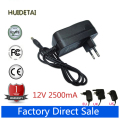 12V 2500mA 2.5A AC DC Power Supply Adapter Wall Charger For Cube i7 Stylus Windows 10 Tablet PC