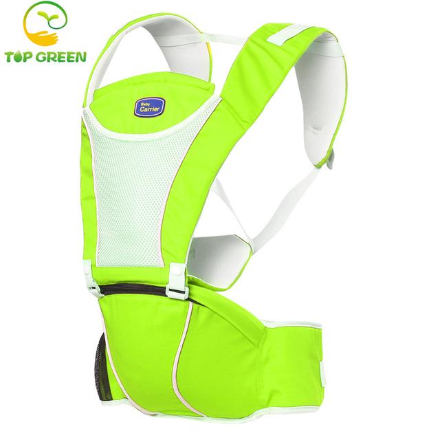 2-30 meses respirável multifuncional baby carrier infantil confortável sling backpack pouch envoltório do bebê portador de bebê canguru