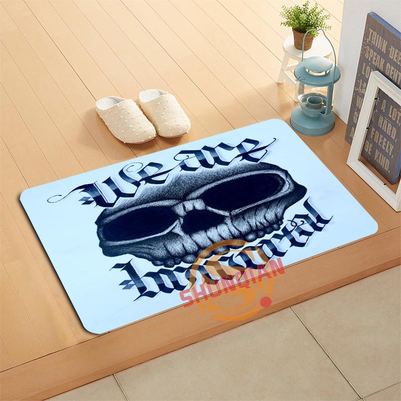 online get cheap skull bath mat -aliexpress | alibaba group