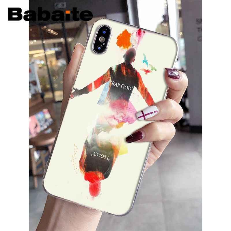 c073362862 ... Babaite Eminem Novelty Fundas Phone Case Cover for Apple iPhone 8 7 6  6S Plus X ...