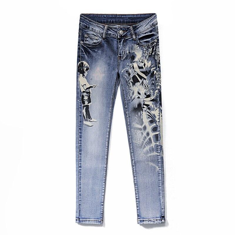 jeans woman 2017 summer boyfriend jeans for women slim. Black Bedroom Furniture Sets. Home Design Ideas