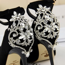Elegant Crystal Pointed Toe Shoes