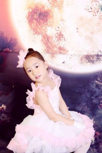 Gimnasia leotardo niño noche la princesa baile latino mujer traje ropa 8029  Ballet Tutu 152bba9e86c