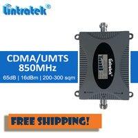 Lintratek 850 MHz 2G 3g повторитель UMTS Усилитель сигнала сотовой сети усилитель сигнала мобильного телефона 850 сотовый GSM, ЖК-дисплей набор # fl