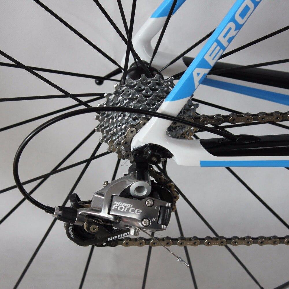 ICAN Carbon αερόστρωτο ποδήλατο μπλε 7.3kg - Ποδηλασία - Φωτογραφία 6