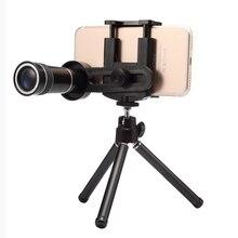 Cheap price Mobile Phone Lens Universal 10x Zoom Telescope Camera Telephoto Lenses for iPhone 4 4S 5 5C 5S 6 Plus Samsung w/ Mount Tripod
