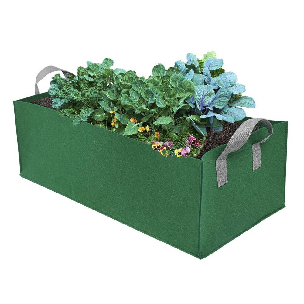 Square Garden Planting Bag Plant Grow Bag Vegetable Gardening Tool