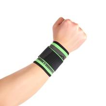 3D weaving straps fitness wristband crossfit gym badminton powerlifting wrist support brace wrist wraps #SBT62