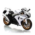 SZK K9 GSX R-1000 Blanco 1:12 escala diecast metal motor modelos miniatura bici carrera de Juguete De Regalo Colección