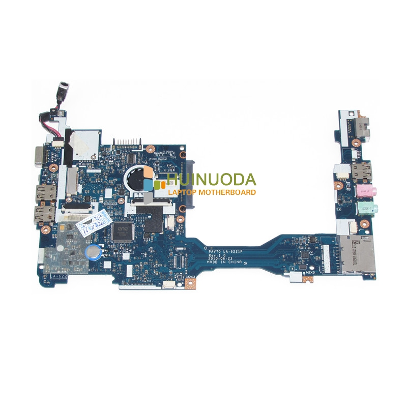 NOKOTION laptop motherboard For acer aspire one D255 D255E Atom N450 mainboard PAV70 LA-6221P MBSDF02001 MB.SDF02.001 nokotion mainboard for acer aspire 5738 laptop motherboard ddr2 ati hd4500 video card mbpke01001 mb pke01 001 48 4cg07 011