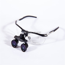High Quality New Aluminum Frame Medical Loupes 2.5X Binocular Magnifier Medical Dental Surgical Loupes цены
