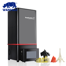 3D Drucker D7 V1.4 upgrade auf D7 V1.5 von WANHAO fabrik LCD/SLA/DLP drucker für zahnarzt und schmuck + USB BOX ohne wifi