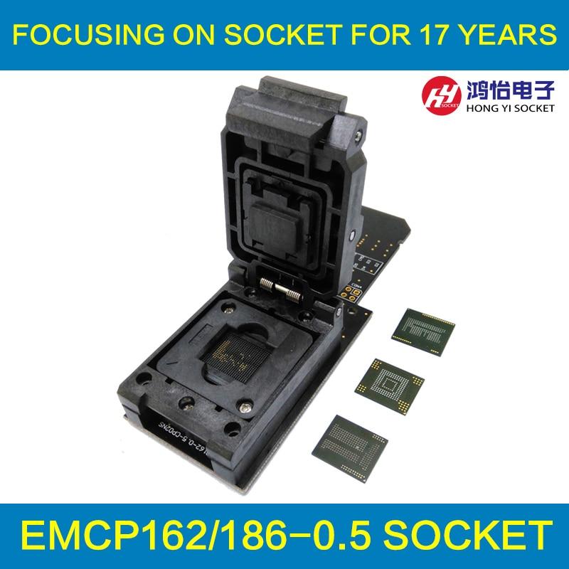 все цены на 3 IN 1 eMMC153/169 eMCP162/186 eMCP221 Test Socket Reader BGA153 BGA169 BGA162 BGA186 BGA221 Data Recovery 11.5x13mm 12x16mm онлайн
